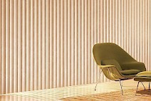 Vertical Blinds for a Florida Living Room: by Florida Shutters and Blinds