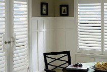 Dining Room Shutters in Tampa Bay, Florida